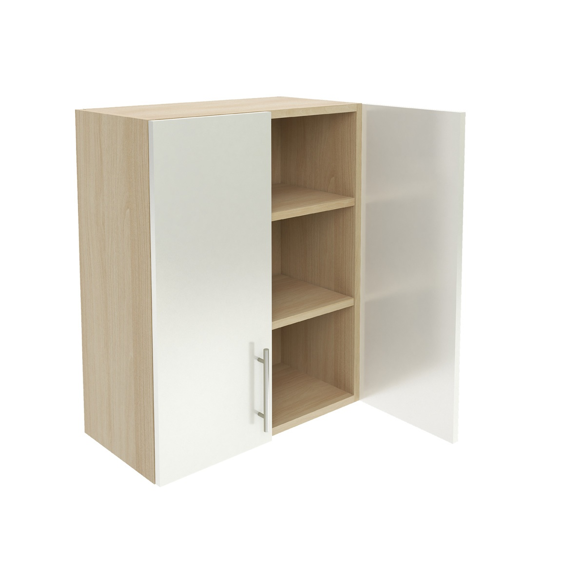 Wall Two Shelf Cabinet