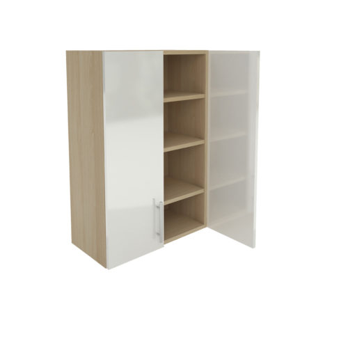 Wall Three Shelf Cabinet